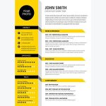 Architecture Cv Resume Creative Cv Of Creative Cv Resume Template Yellow Color if You Like This Design Check Others On My Cv Template Board Thanks for Sharing