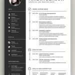 Architecture Resume Minimal Of Here S A Resume Employers Actually Want to Read Try This Clean Minimal Resume Template for Landing Your Dream Job