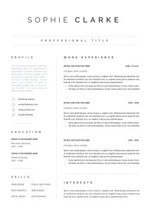 Architecture Resume Template Free Of Resume Template Resume Cv Template Cv Design Curriculum Vitae Cv Instant Resume Resume Templates Cv