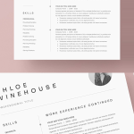 Architecture Resume Template Free Of Resume Templates Clean Design