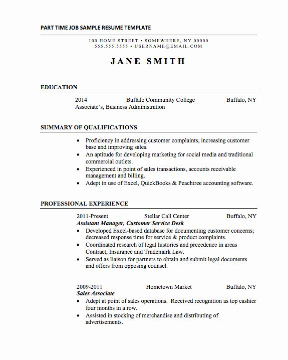 basic resume template college students of resume template