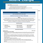 Construction Manager Resume Examples Of Construction assistant Project Manager Resume Example & Guide 2021