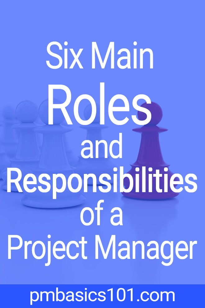 Project Manager Roles and Responsibilities plete List