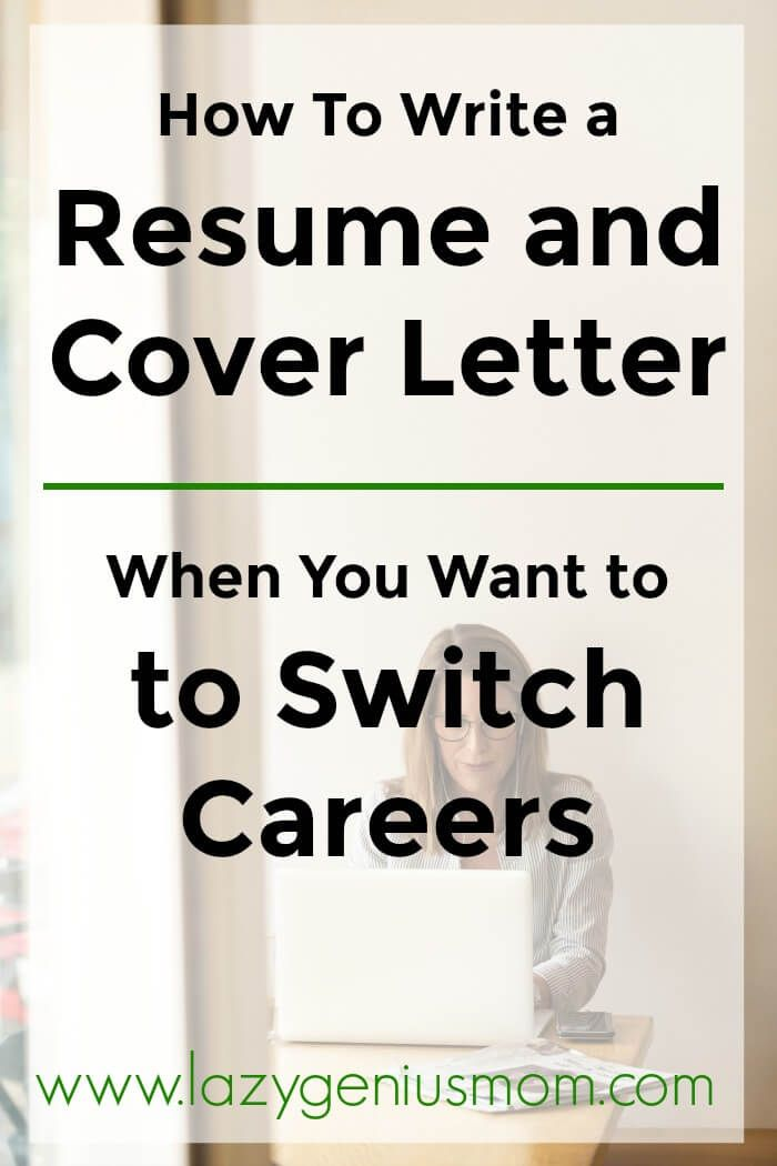 How to change your cover letter and resume when you want to switch careers [4 steps]