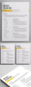 Cover Letter Template Creative Of Modern and Professional Resume Template