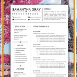Cover Letter Template Simple Of Resume Template Professional Resume Creative Resume Cv Template Modern Resume Resume Word Cv