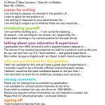 30 Cover Letter For Job Application letterlyfo