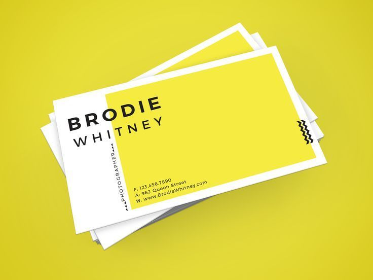 Bro Whitney Business Card