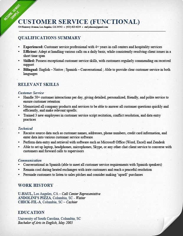 Customer Service Resume Template Free from i0.wp.com