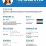 Customer Service Resume Template Of Free Resume Cv format Template Word Doc Psd Indesign Apple Mac Pages Illustrator