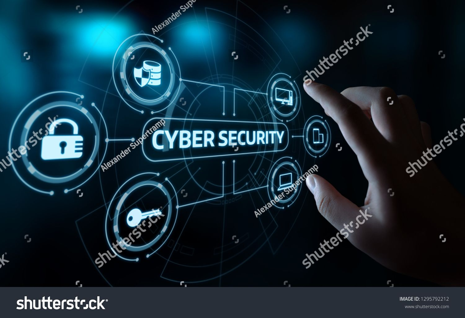Cyber Security Data Protection Business Technology Stock Edit Now