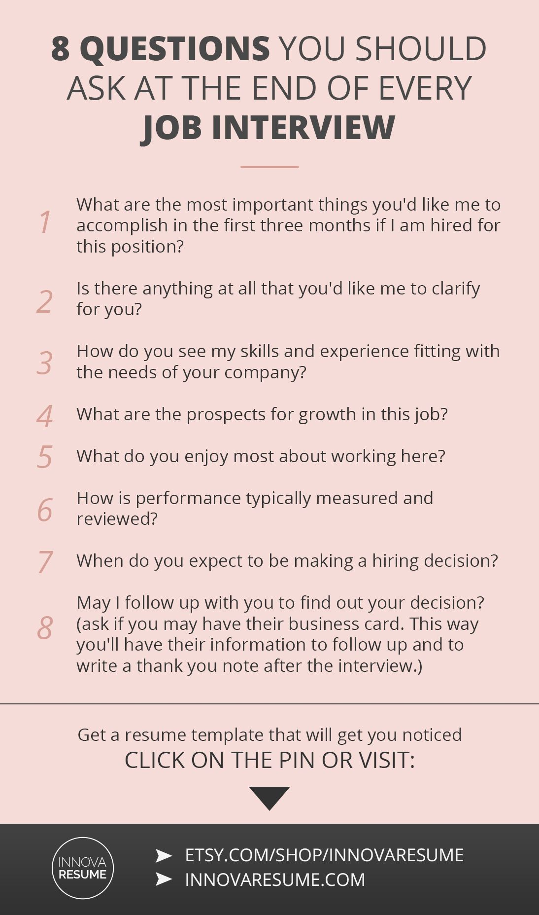 8 Questions You Should Ask At Every Job Interview