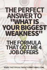 Do You Need A Resume for A Job Of What is Your Biggest Weakness How to Answer During Job Interview