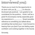 Email Template for Job Interest Of Job Interview Tips 7 10