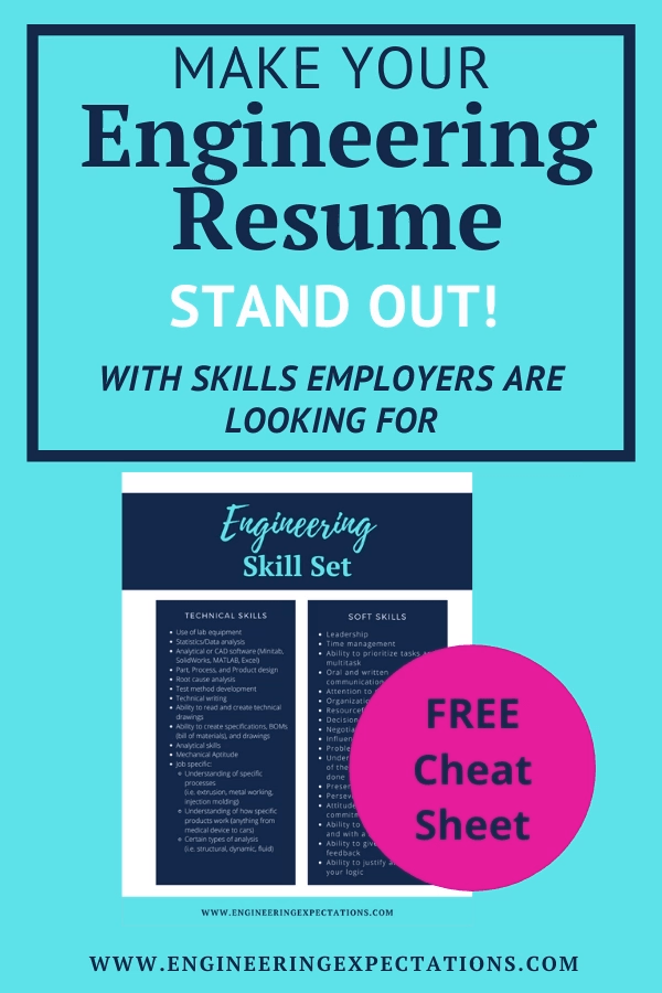 Make Your Engineering Resume Stand Out