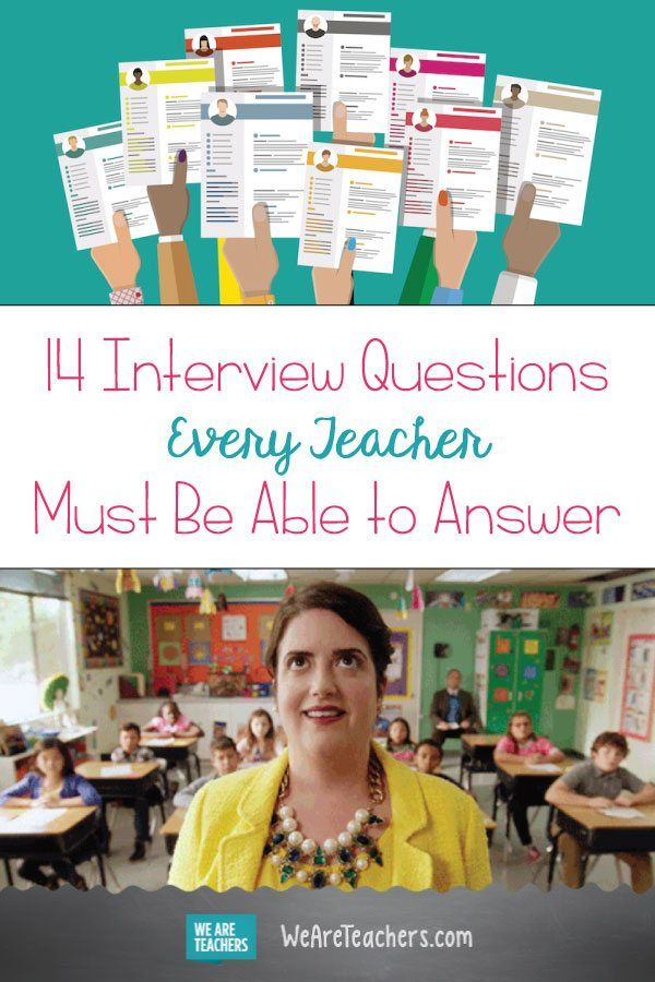 18 Interview Questions Every Teacher Must Be Able to Answer