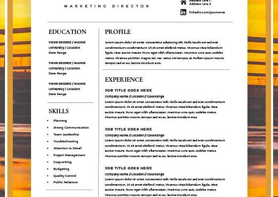 Examples Of Cover Letter for Resume Of Creative Resume Template for Word 1 2 Page Resume Template and Cover Letter Diy Resume Template Instant Download Modern Resume Template Resume Jobs Interview Cvtemplate Career Resumetemplate