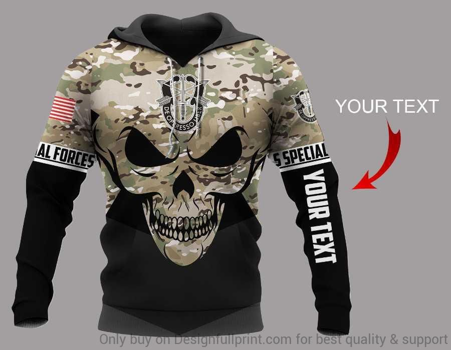 Personalized Special Forces US Uni Hoo