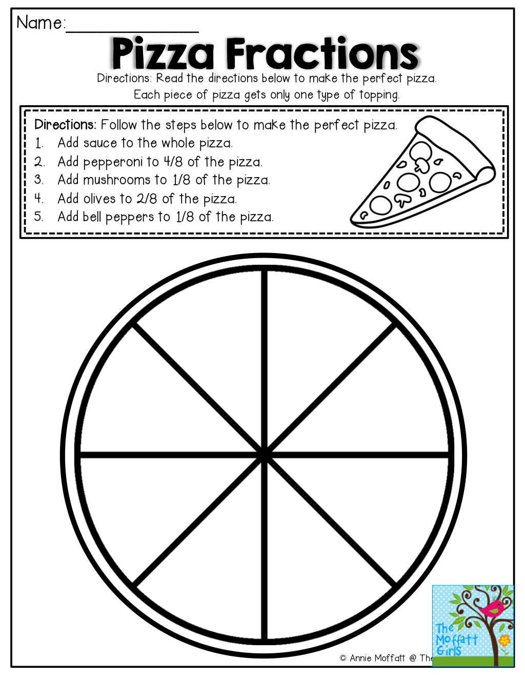 hight resolution of 9 Fractions Worksheets Grade 3 - Free Templates