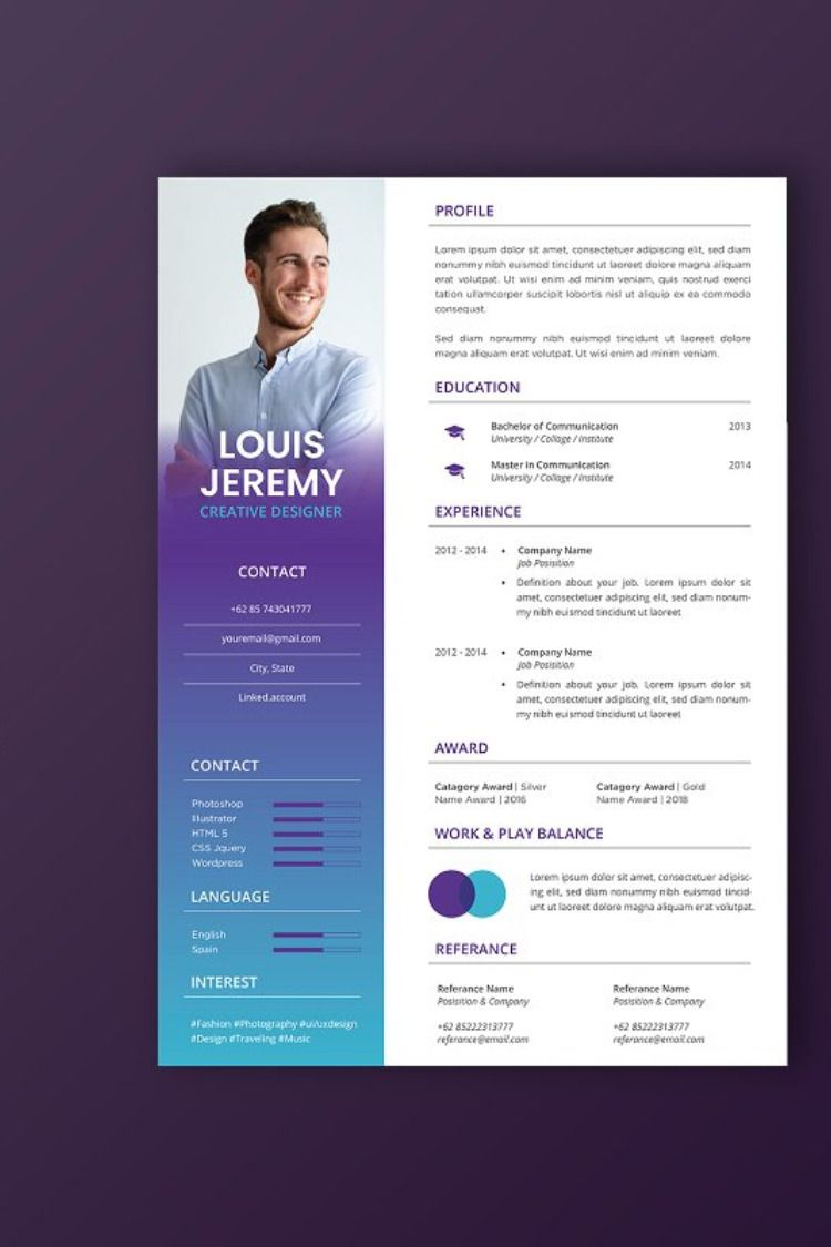 Free Downloadable Resume Template Microsoft Word Cover ...