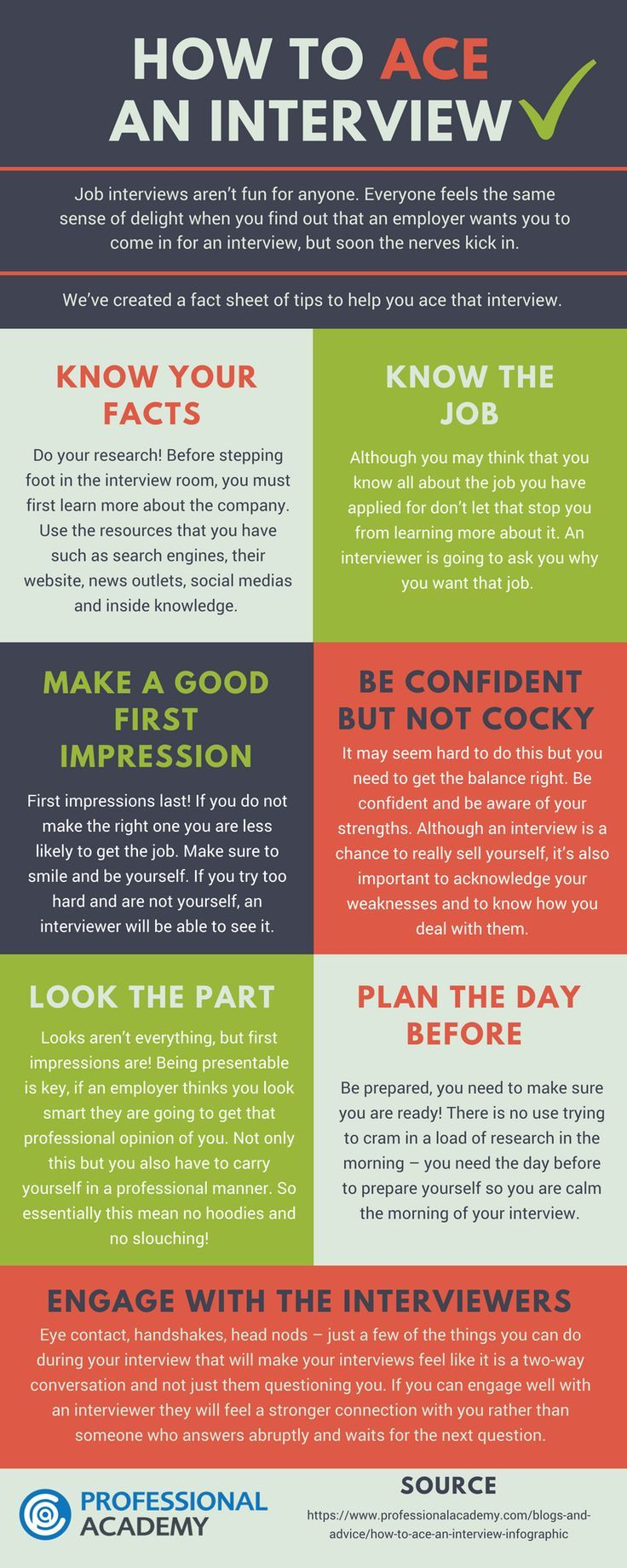 How to Ace a Job Interview Personal Development Advice