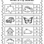 Hindi Alphabet Worksheets Beginning sounds Of Phonics Printable Worksheet Bundle Beginning sounds and Early Spelling