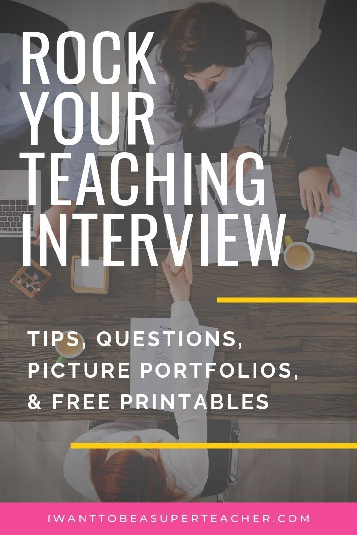 Tips to Rock Your Elementary Teacher Interview