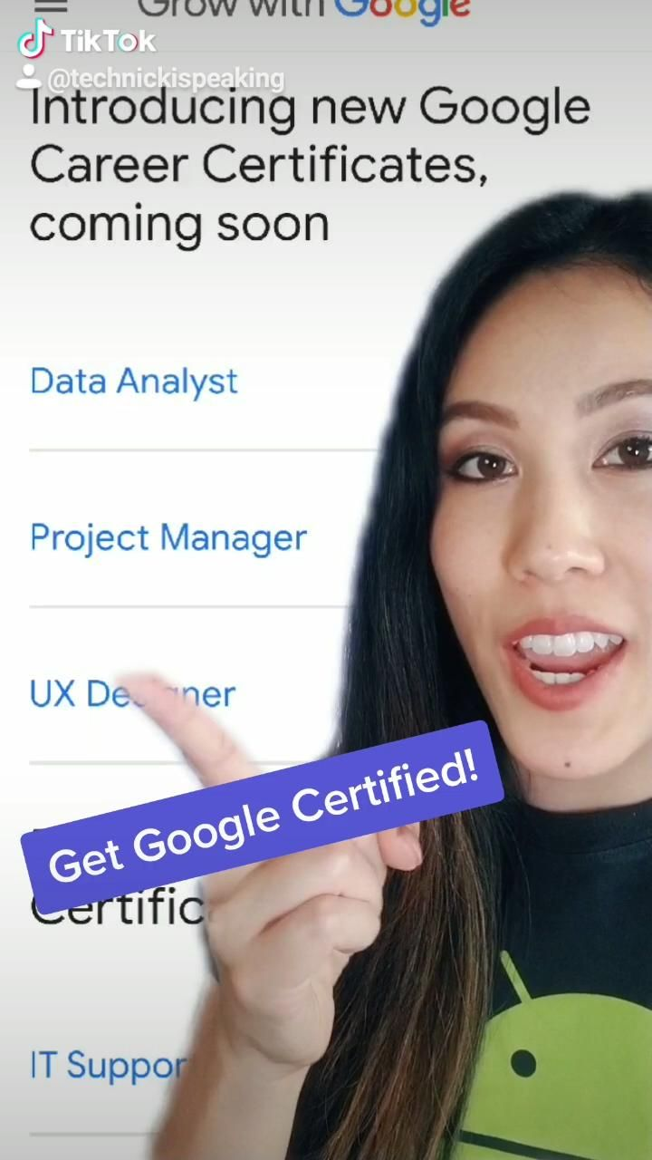 Get Google Certified for In Demand High Paying Jobs in Tech Without A College Degree