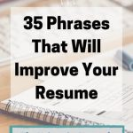 Keywords to Use In Resume Of 35 Phrases that Will Improve Your Resume