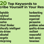 Keywords to Use In Resume Of What are Good Resume Keywords
