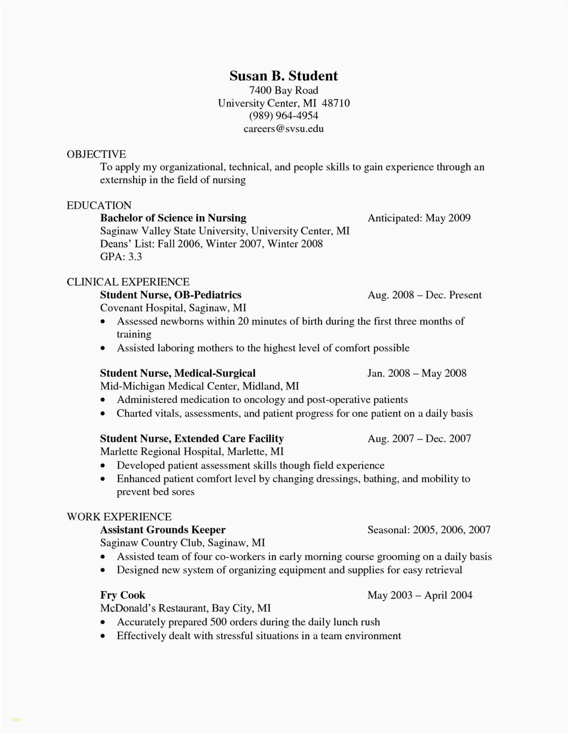 How to Write an Appropriate New Grad Nurse Resume