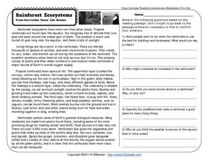 Printables 7th Grade Reading prehension Worksheets Free