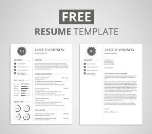 Resume Cover Letter Template Free Of