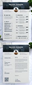 Resume Template Free Editable Simple Of Cv Template with Professional Resume Design for Word