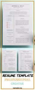 Resume Template Professional Creative Of 30 Best Word Resume Templates