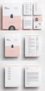 Resume Template Professional Creative Of Resume Template Professional Resume Template Simple & Clean Resume Template 5 Page Pack 5 Pages Resume Cv 4 Pages Cv 4 Pages Resume Template Instant Download