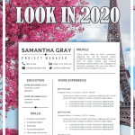 Resume Template Professional Download Of Resume Template Professional Resume Creative Resume Cv Template Modern Resume Resume Word Cv
