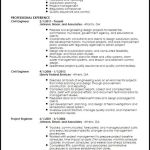 Resume Template Professional Engineer Of Free Professional Engineering Resume Templates Resume now