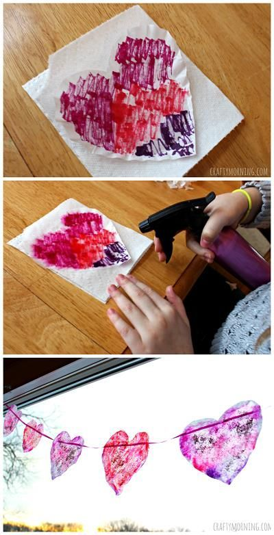List of Easy Valentine s Day Crafts for Kids Crafty Morning