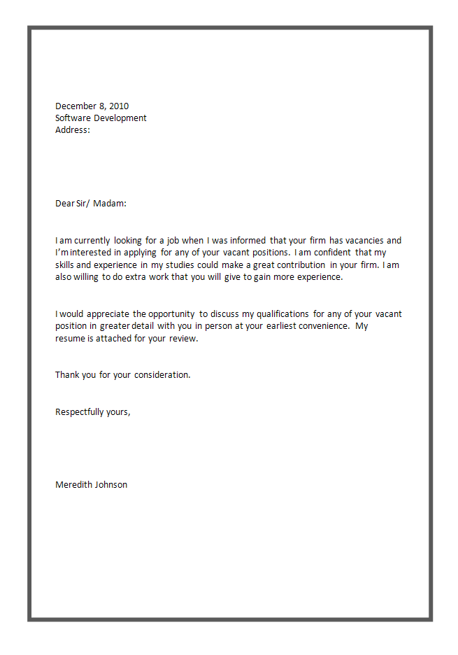 simple cover letter samples for resume of beautiful