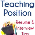 Skills to List On Teacher Resume Of How to Land that Teaching Position