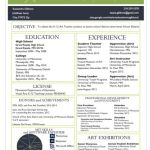 Software to Put On Resume Of A Resume for the Modern Art Teacher the Art Of Education University