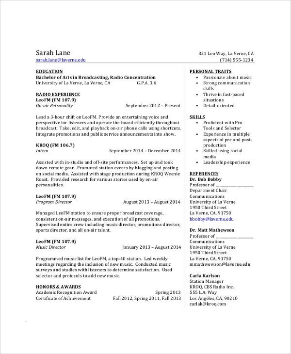 students resume of sample college student resume 8