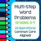 Subtraction Word Problems for Grade 3 Of Multi Step Word Problems Problem solving for Grades 3 and 4