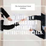 T Mobile Interview Questions Of 10 Interview Questions for A Potential Instructional Coach the Instructional Coach Academy