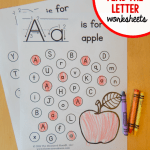 """Teaching Alphabet to toddlers Worksheets Of Free """"find the Letter"""" Alphabet Worksheets the Measured Mom"""