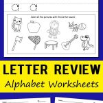 The Alphabet Worksheets Activities Of Letter Review Alphabet Worksheets
