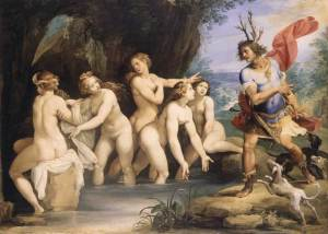 Diana and Actaeon by Cesari (1603)