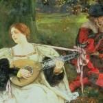 Fair is My Love, Edwin Austin Abbey, 1900