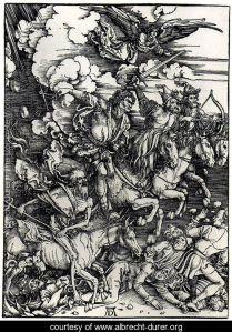 Four Horsemen of the Apocalypse, Albrecht Durer, 1494